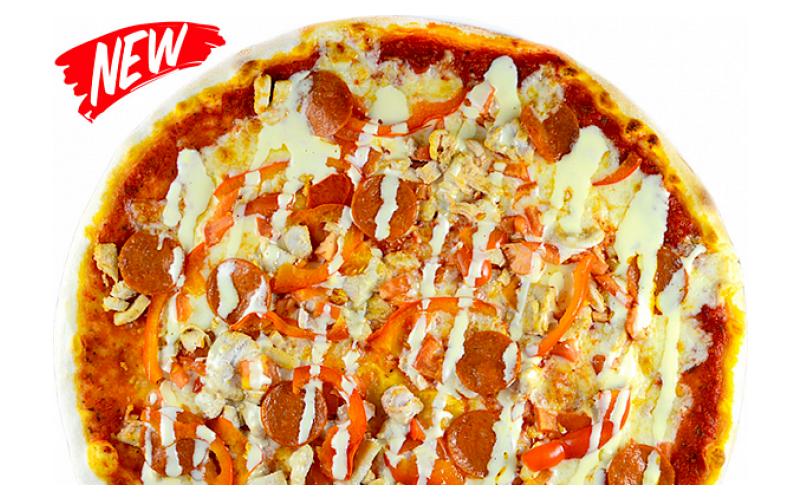 Пицца сырный цыпленок XXL