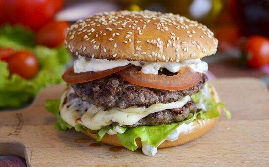 Бургер «Выбор мясника»