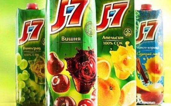 «J7» в ассортименте