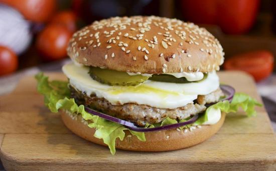 Бургер «Дочь мясника»