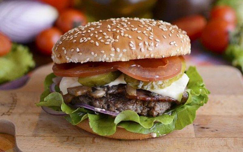 Бургер «БЭД ЖЭК»