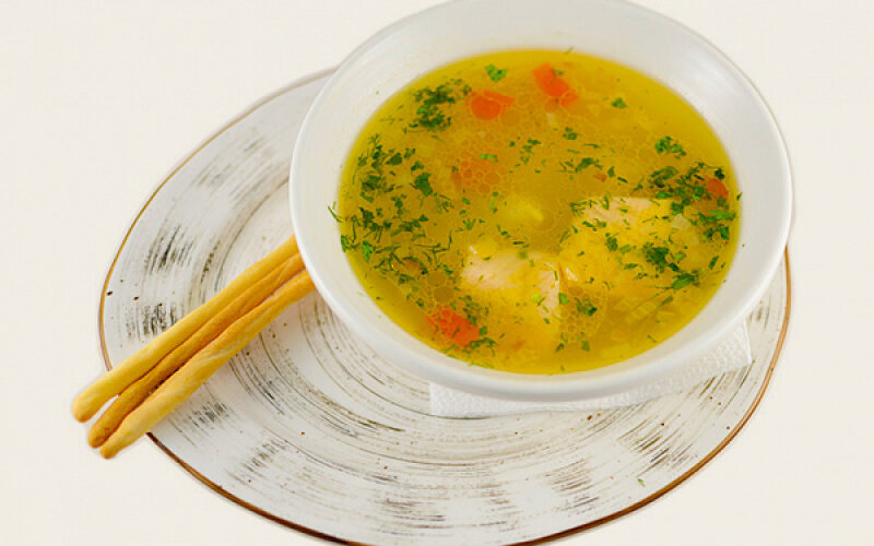 Рыбный суп «Морелла»