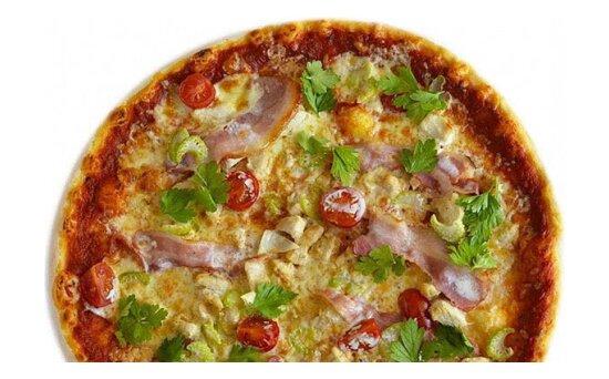 Пицца с курицей и бекономXXL