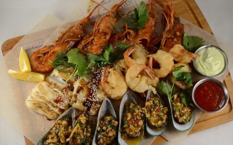 Сэт из морепродуктов