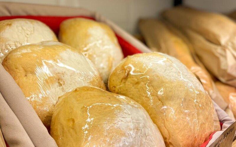 Хлеб сельский (чиабатта)