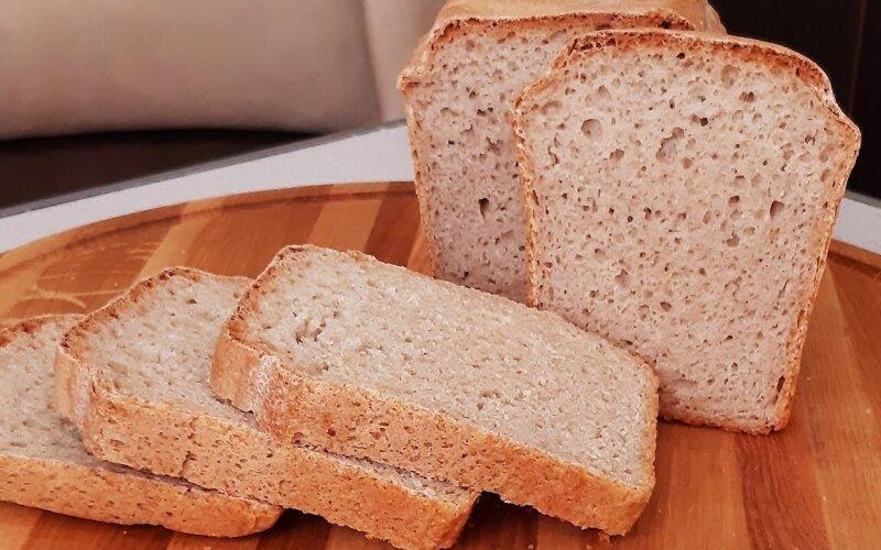 Хлеб серый с отрубями